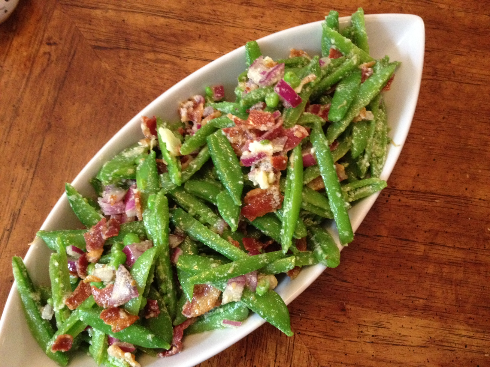 sugar snap pea salad photo joanne bruno maura mcevoy sugar snap pea ...