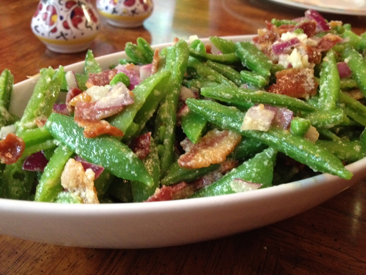sugar snap pea salad with this salad is best when eaten sugar snap pea ...